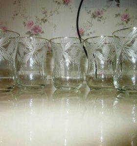 Хрустальные стаканчики