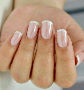 Маникюр, шеллак, дизайн ногтей