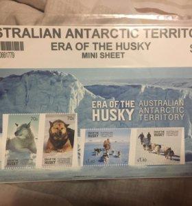 Мини лист марок