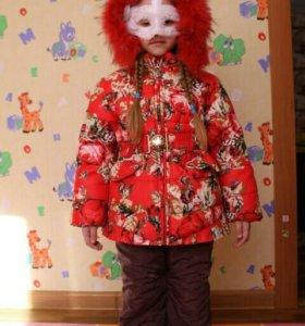 Зимняя куртка возраст 5-6 лет