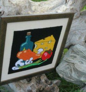"Картина""натюрморт с сыром"""