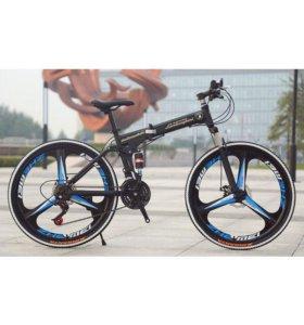 Велосипед скоростной новый литые диски