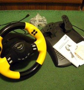 Genius speedwheel rv Игровой руль педали новый