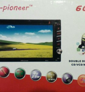 2din автомагнитола dvd usb диск