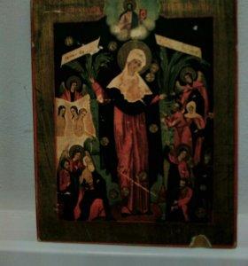 Икона Богоматерь Всем Скорбящим Радость