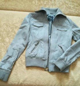 Куртка коженная 40-42р.