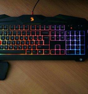 Игровой набор Наушники + Клавиатура + Мышь.