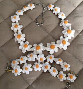 Ожерелье и браслет .