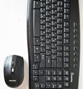 Комплект беспроводной Клавиатура + Мышь.