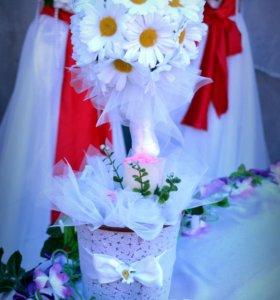 Оформление свадеб.