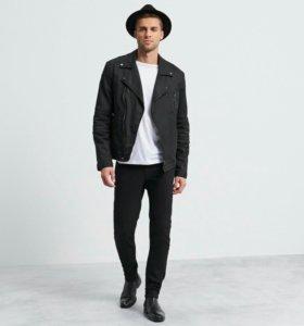 Новая Куртка из экокожи reserved