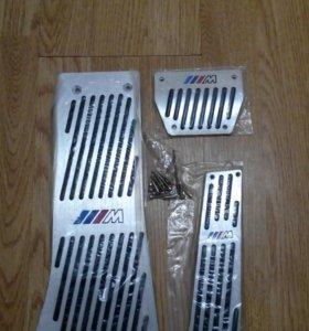 Накладки на педали BMW X5, X6