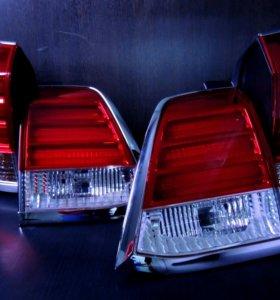 Фонари на Land Cruiser 200