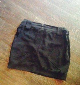 Чёрная юбку