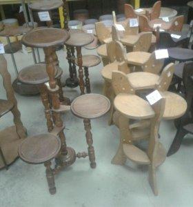 Изготовление изделий из натурального дерева.