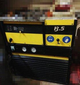 Индукционная плавильная печь В-5 + холодильник.