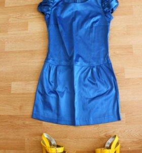 платье Love republic и босоножк