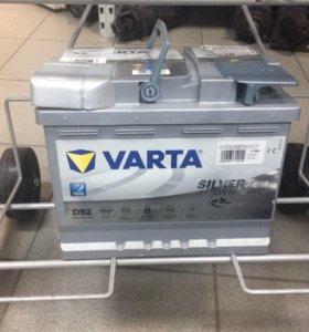 Аккумулятор автомобильный Varta D52 AGM 60 а/ч
