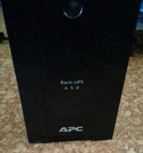 Бесперебойник APC Back-UPC 650VA-RSX761