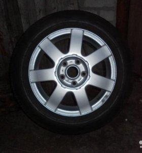VW литой диск 5*112  ЕТ45