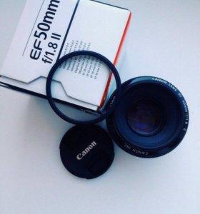 Объектив Canon 50/1,8