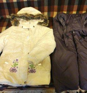 Зимний костюм рост 110-116
