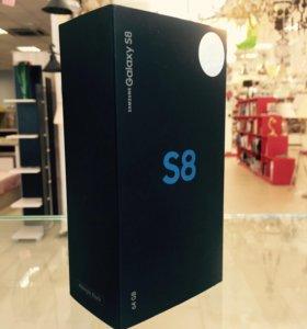 Samsung Galaxy S8 64Gb (Черный) НОВЫЙ ОРИГИНАЛ