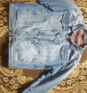 Новая мужская джинсовка