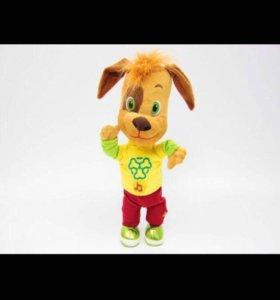 Мягкая игрушка Дружок говорящая из м/ф Барбоскины