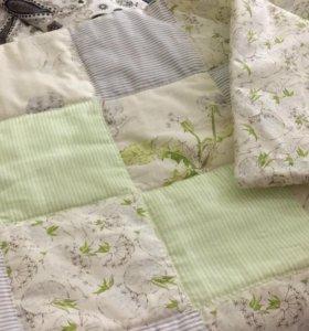 Стёганое одеяло- конверт для малыша,