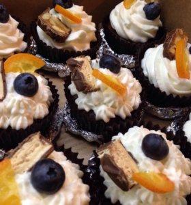 Капкейки, торты, кексы