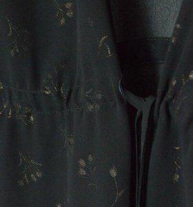 Блуза-туника прозрачная