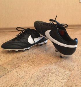 Футбольные бутсы Nike + гетры