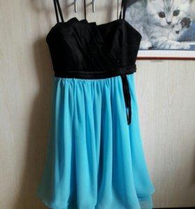 платье коктельное нарядное
