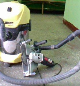 Штробление, сверление бетона