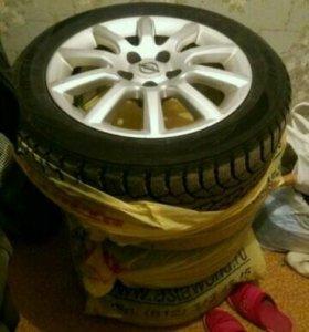 Продам колеса от Opel Zafira B