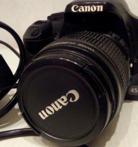 Фотоаппарат бу. Canon. Eos 450d.