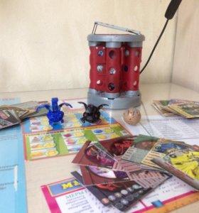 Карточки чер-ниндзя,челов-паук,бакуганы,супергонки