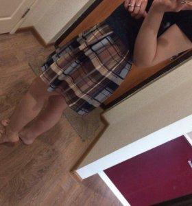 Новые юбки с поясом