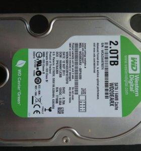 Жёсткий диск 2 TB WD