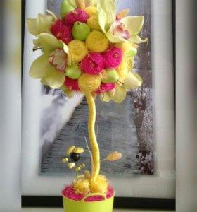 """Топиарий """"Орхидея"""""""