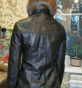 Куртка кожзам 42-44рр или 44-46рр