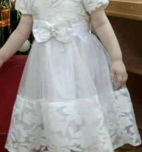 Платье на девочку 3х лет
