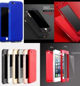 Чехол и стекло для iPhone 6/6s/7/7 plus/6 plus/6s+