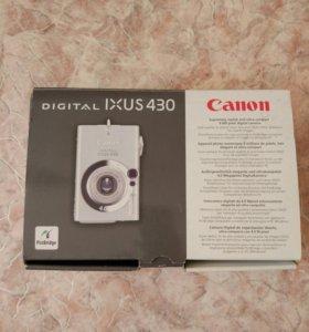 Фотоаппарат цифровой canon