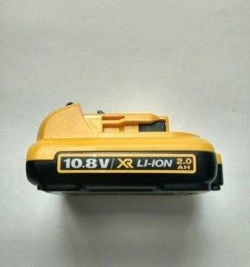 Аккумулятор dewalt dcb127 10.8v 2ah