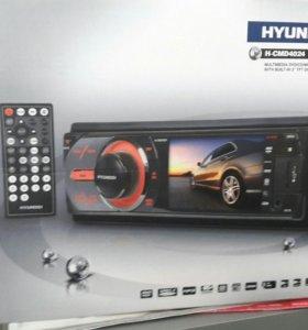 Магнитола hyundai DVD MP3 USB AUX TV