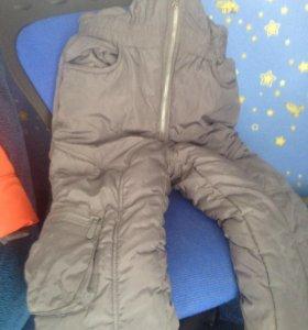 Зимняя куртка и комбинещон