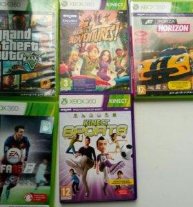 Xbox 360+5 игр