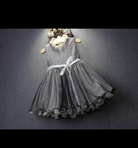 4-6лет Новое платье